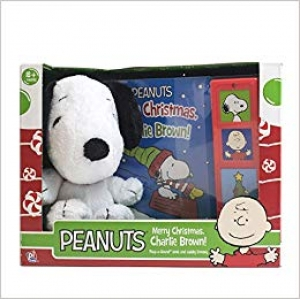 ihocon: Peanuts Merry Christmas, Charlie Brown! - Snoopy Plush Included - Play-a-Sound - PI Kids 含史努比玩偶