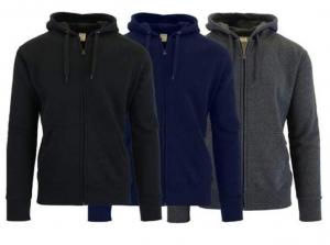 男士連帽夾克3件-多色可選 $27.99(原價$119.97)