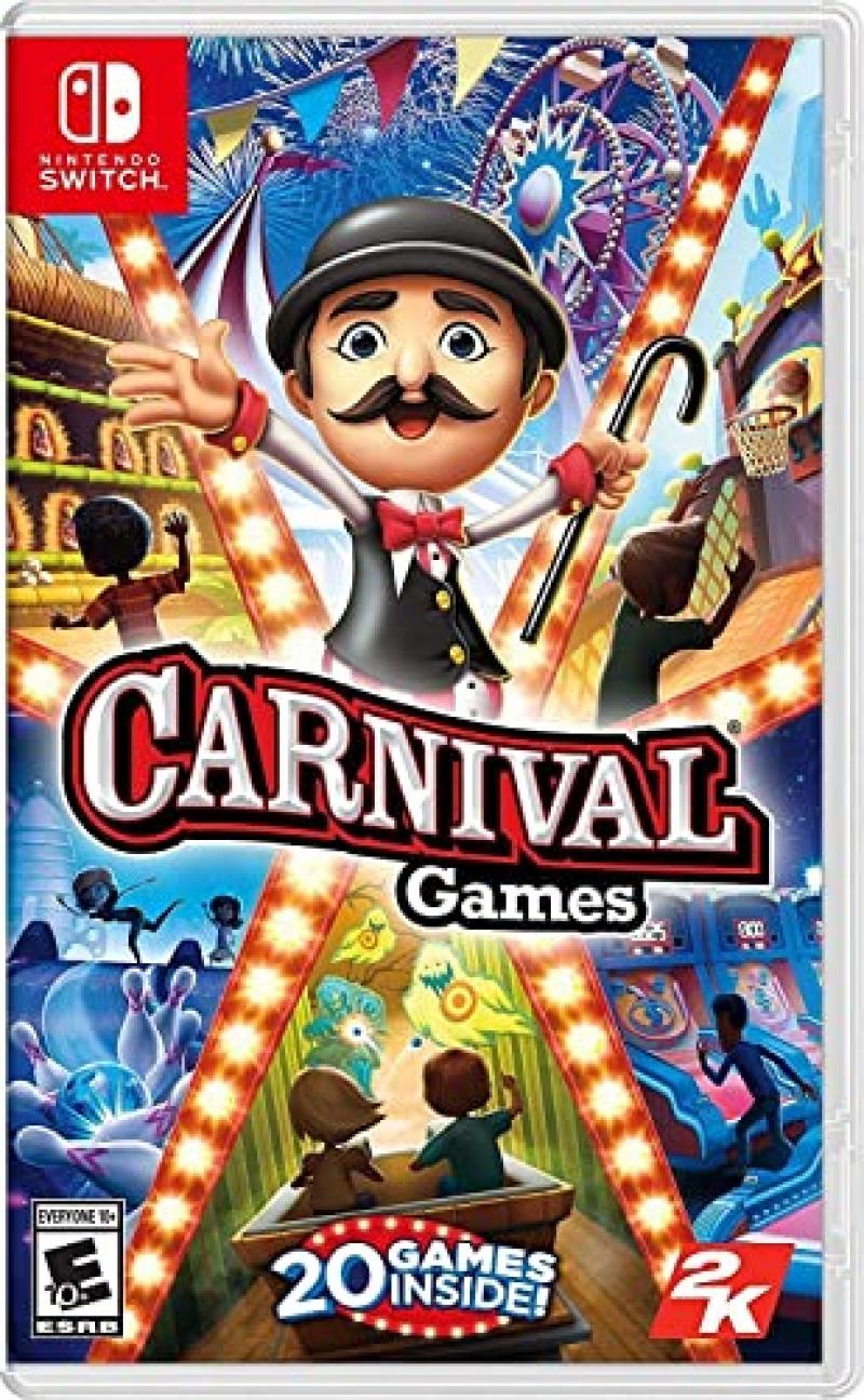 ihocon: Nintendo Switch遊戲 - Carnival Games