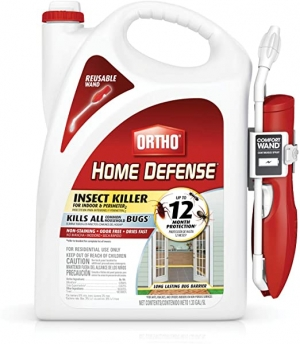 ihocon: Ortho Home Defense Insect Killer for Indoor & Perimeter2 (with Comfort Wand), 1.33 gal. 室內及屋外四週除蟲劑