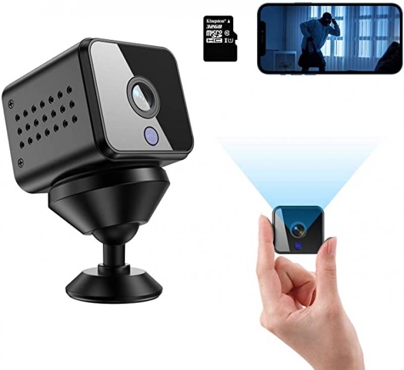 ihocon: Vnieetsr HD 1080P Wireless Mini Hidden Spy Camera 迷你隱藏式攝像機/針孔相機