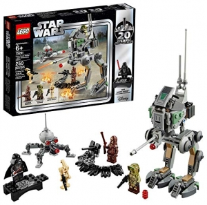 ihocon: [2019新款, 20週年紀念版] LEGO Star Wars Clone Scout Walker – 20th Anniversary Edition 75261 Building Kit, New 2019 (250 Pieces)