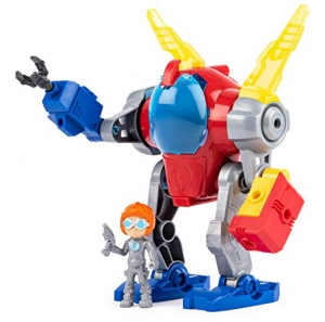 ihocon: Rusty Rivets, Mechsuit, Snap n Build Construction Set with Lights, Sounds, and Rusty Figure 聲光組合機器人