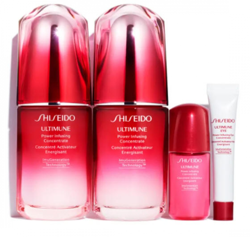 ihocon: SHISEIDO Ultimune Power Infusing Concentrate Serum with ImuGeneration Technology Set 資生堂高效濃縮精華液套裝