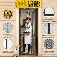 ihocon: Lazy Monk Magnetic Screen Door up to 39 x 82 Max 磁性紗門