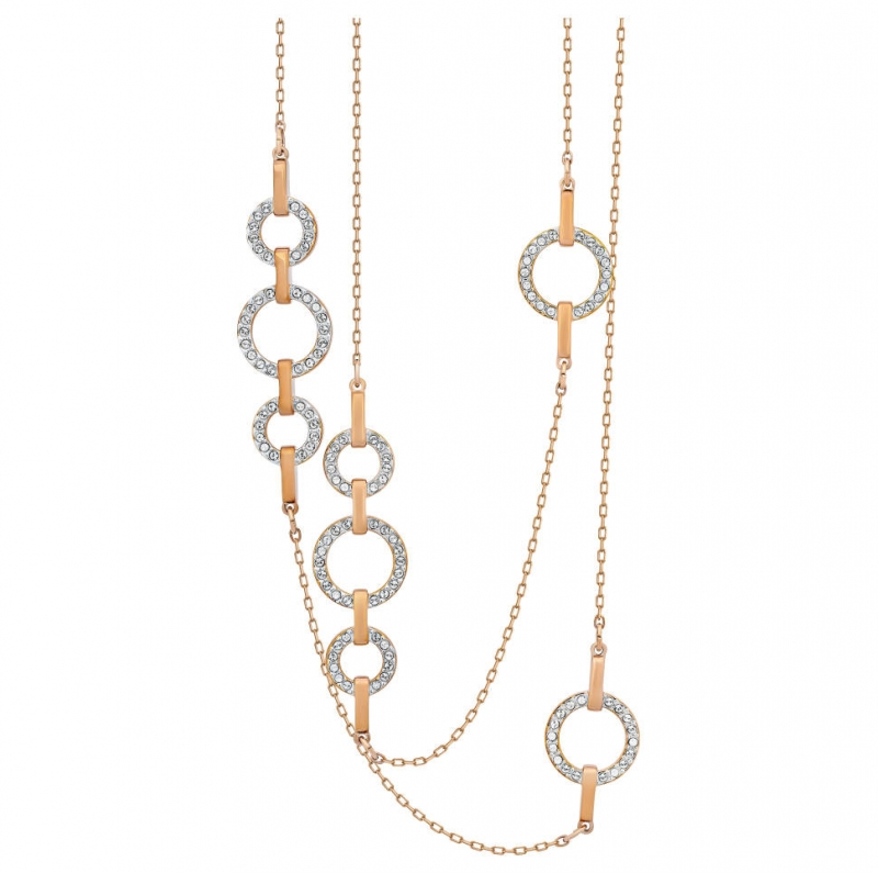 ihocon: Swarovski Circle Women's Necklace 施華洛世奇女士項鍊