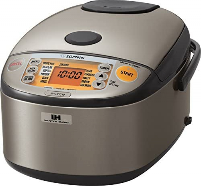 ihocon: Zojirushi NP-HCC10XH Induction Heating System Rice Cooker and Warmer, 1 L, IH電磁電飯鍋