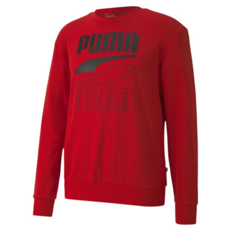 ihocon: PUMA Men's Rebel Crewneck Sweatshirt 男士長袖運動衫