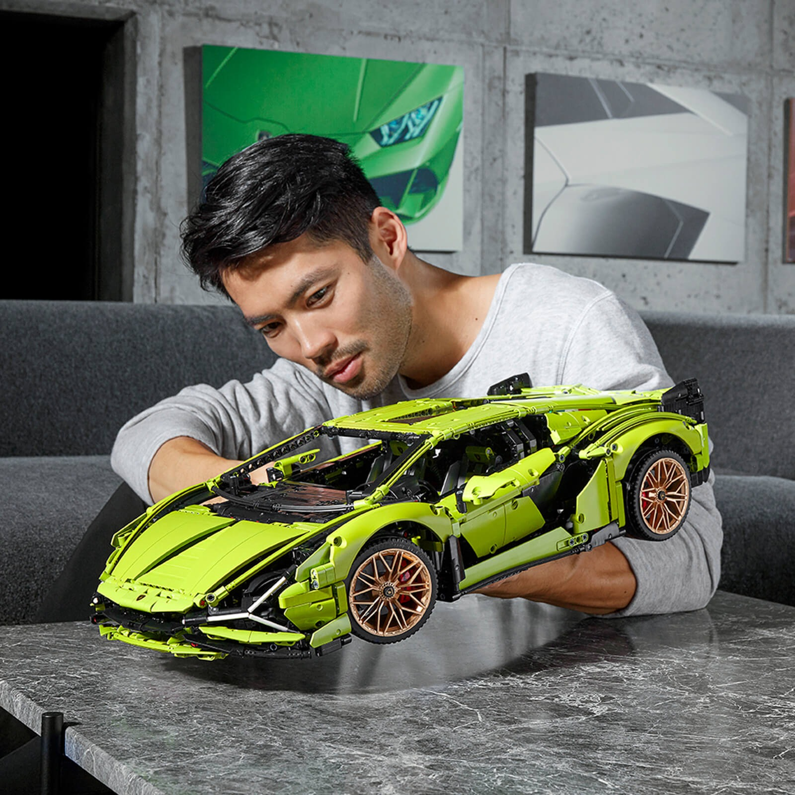 ihocon: 樂高積木 LEGO Technic: Lamborghini Sián FKP 37 Car Model (42115)