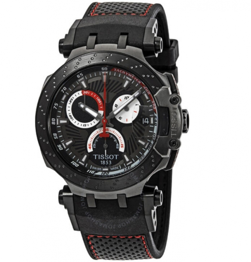 ihocon: Tissot T-Race Jorge Lorenzo Men's Watch T115.417.37.061.01 天梭男錶