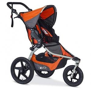 ihocon: BOB Revolution Flex 2.0 Jogging Stroller - Up to 75 pounds - UPF 50+ Canopy - Adjustable Handlebar, Canyon    慢跑嬰兒車