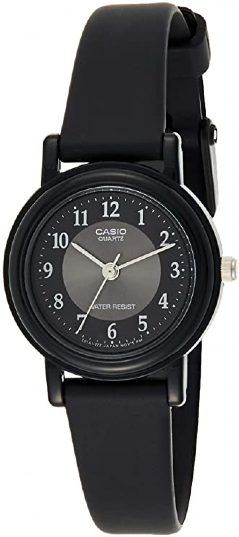 ihocon: Casio Women's LQ139A-1B3 Black Classic Resin Watch 卡西歐女錶