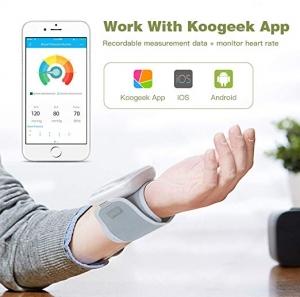 ihocon: Koogeek Wrist Blood Pressure Monitor with Heart Rate Detection手腕血壓計