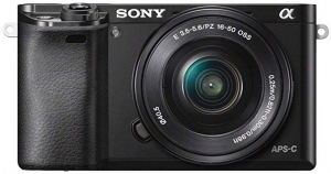 ihocon: Sony Alpha a6000 24.3MP Full HD 1080p Mirrorless Digital Camera with 16-50mm Lens (Used Like New)