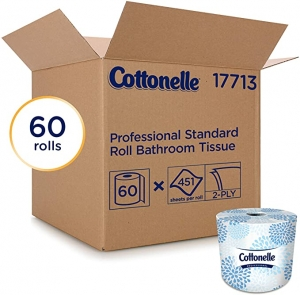 ihocon: Cottonelle Professional Bulk Toilet Paper for Business, 2-PLY, 60 Rolls / Case, 451 Sheets / Roll 廁所衛生紙