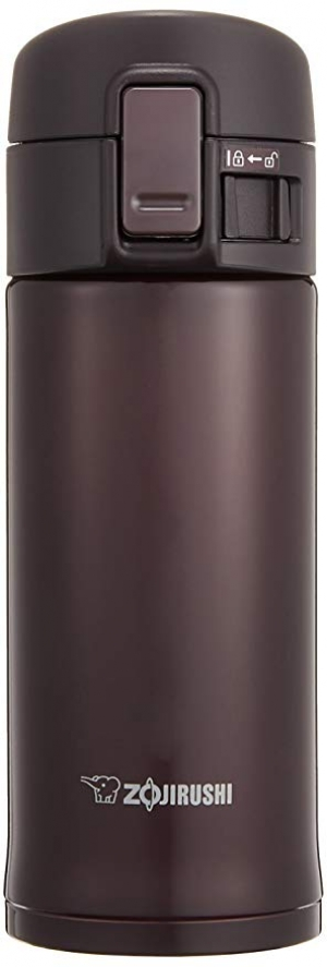 ihocon: Zojirushi SM-KC36 Stainless Mug, Bordeaux  象印不銹鋼保溫杯