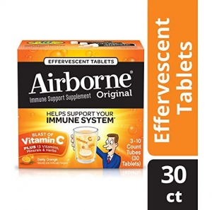 ihocon: Airborne Vitamin C 1000mg Immune Support Supplement, Orange, 30 Count