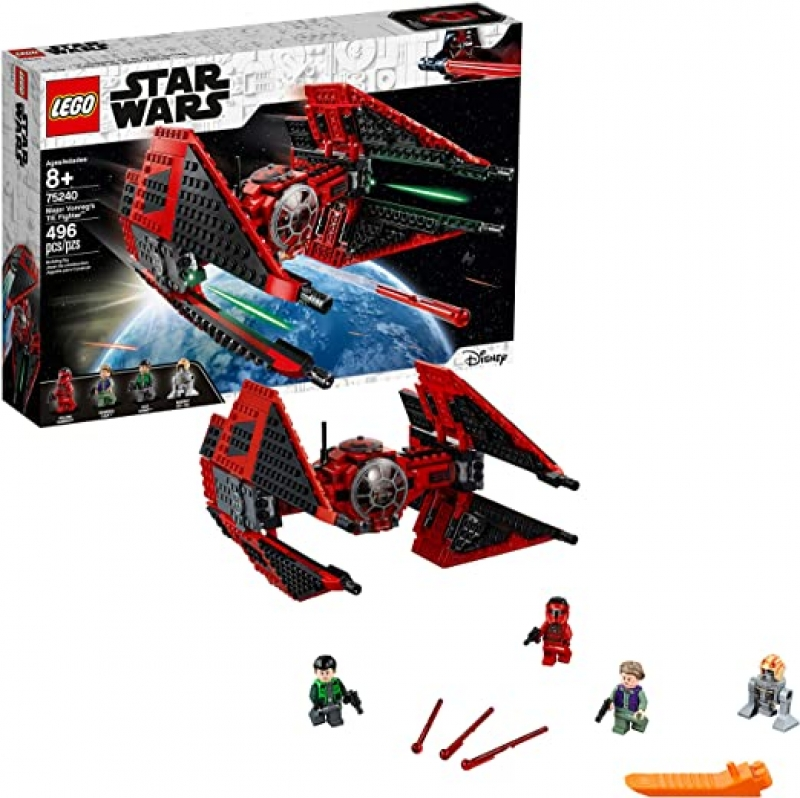 ihocon: 樂高星球大戰LEGO Star Wars Resistance Major Vonreg's TIE Fighter 75240 Building Kit (496 Pieces)