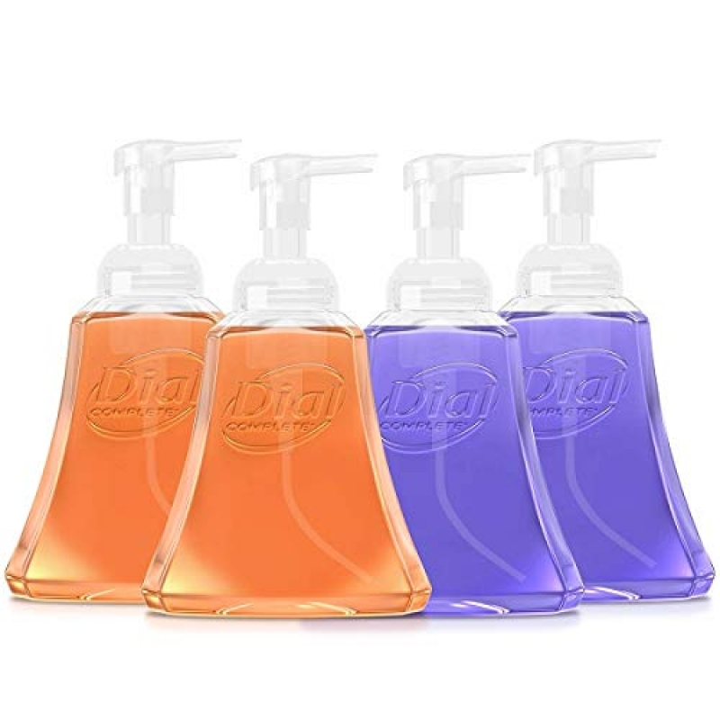 ihocon: Dial Complete Antibacterial Foaming Hand Wash for Kitchen, Fresh Lavender/Citrus Sunburst, 15 Ounce (Pack of 4) 泡沫洗手液皂
