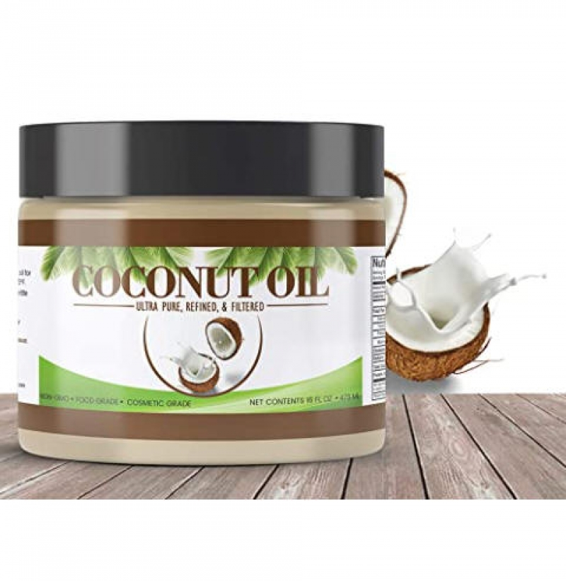 ihocon: PURE Coconut Oil (14 oz), Refined 椰子油