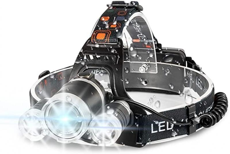 ihocon: IKAAMA 6000 High Lumens Brightest Head Lamp 充電式防水頭燈