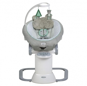 ihocon: Graco EveryWay Soother Baby Swing with Removable Rocker, Tristan  嬰兒安撫搖籃
