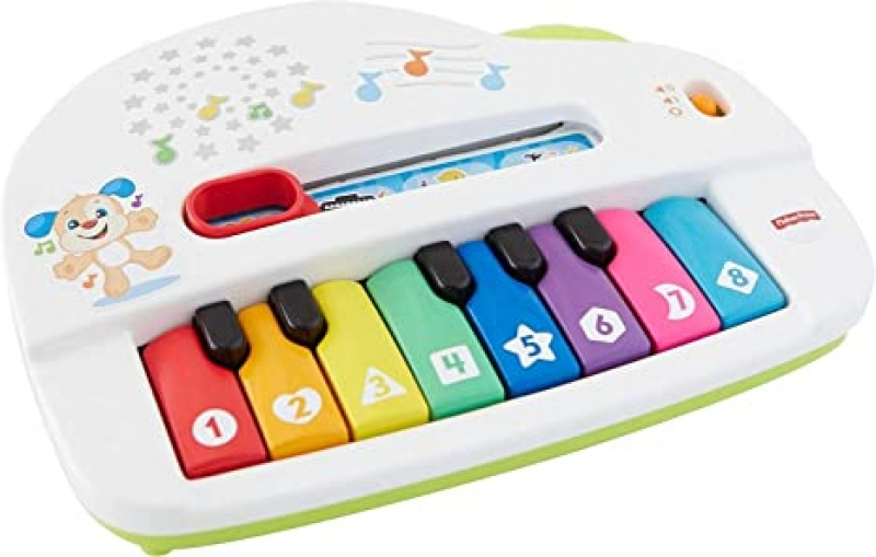 ihocon: 幼兒玩具 - Fisher-Price Laugh & Learn Silly Sounds Light-up Piano