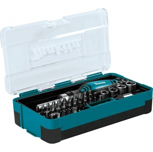 ihocon: Makita B-50289 Ratchet and Bit Set (47 Piece) 螺絲刀組