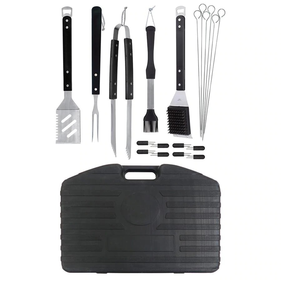 ihocon: Mr. Bar-B-Q 20 Piece Stainless Steel Tool Set 不銹鋼烤肉工具