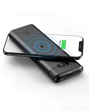 ihocon: Aideaz PowerOrigin Air 20,000mAh Wireless Portable Power Bank Compatible with iPhone Xs Max/X/8 and Samsung Galaxy 無線充電行動電源/充電寶