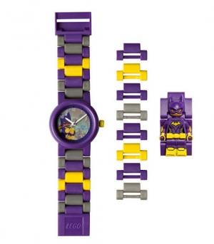 ihocon: LEGO 8020844 Batman Movie Batgirl Minifigure Link Watch 樂高蝙蝠俠電影童錶