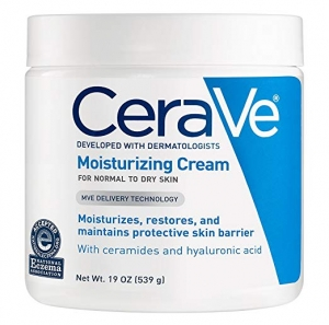 ihocon: CeraVe Moisturizing Cream | 19 Ounce | Daily Face and Body Moisturizer for Dry Skin 臉部及身體保濕霜(乾性肌膚)