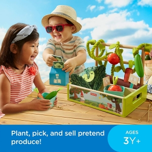 ihocon: Fisher-Price Farm-to-Market Stand 兒童玩具