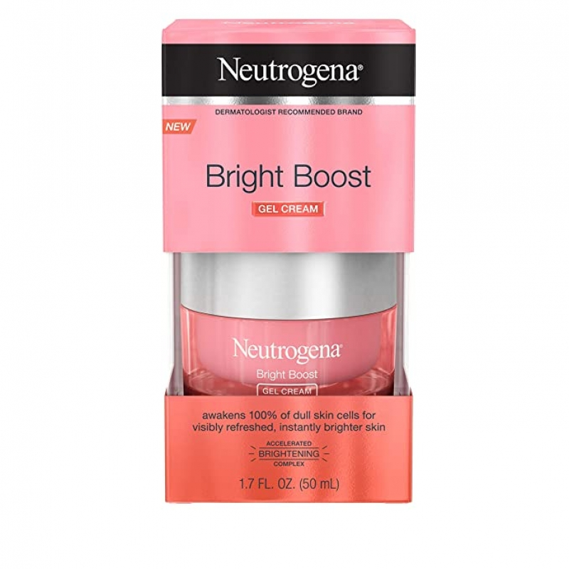 ihocon: Neutrogena Bright Boost Brightening Gel Moisturizing Face Cream, 1.7 fl. oz 露得清美白凝膠