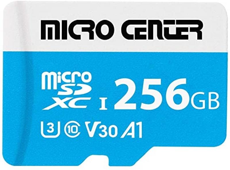 Micro Center 256GB microSDXC記憶卡, 含adapter $27.99免運