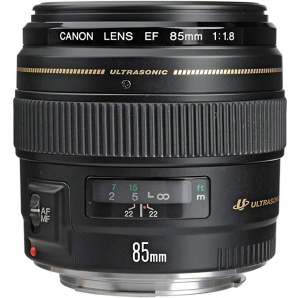 [新低價] Canon EF 85mm f/1.8 USM Medium Telephoto 鏡頭 $269免運(原價$419)