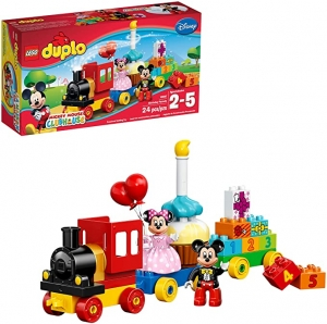ihocon: LEGO DUPLO Disney Mickey Mouse Clubhouse Mickey & Minnie Birthday Parade 10597 Disney Toy (24 Pieces) 樂高迪斯尼米奇與米妮生日遊行