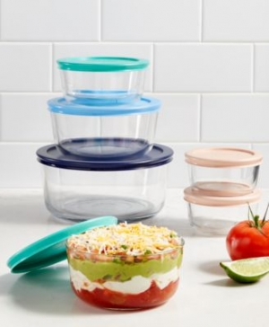 ihocon: Pyrex 12-Pc. Storage Set 玻璃保鮮盒