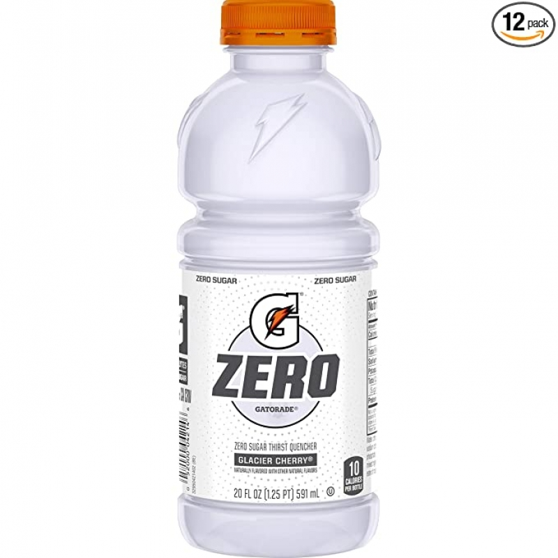 Gatorade Zero Sugar無糖運動飲料, 含電解質 20 oz 12瓶 $7.10(原價$7.47)