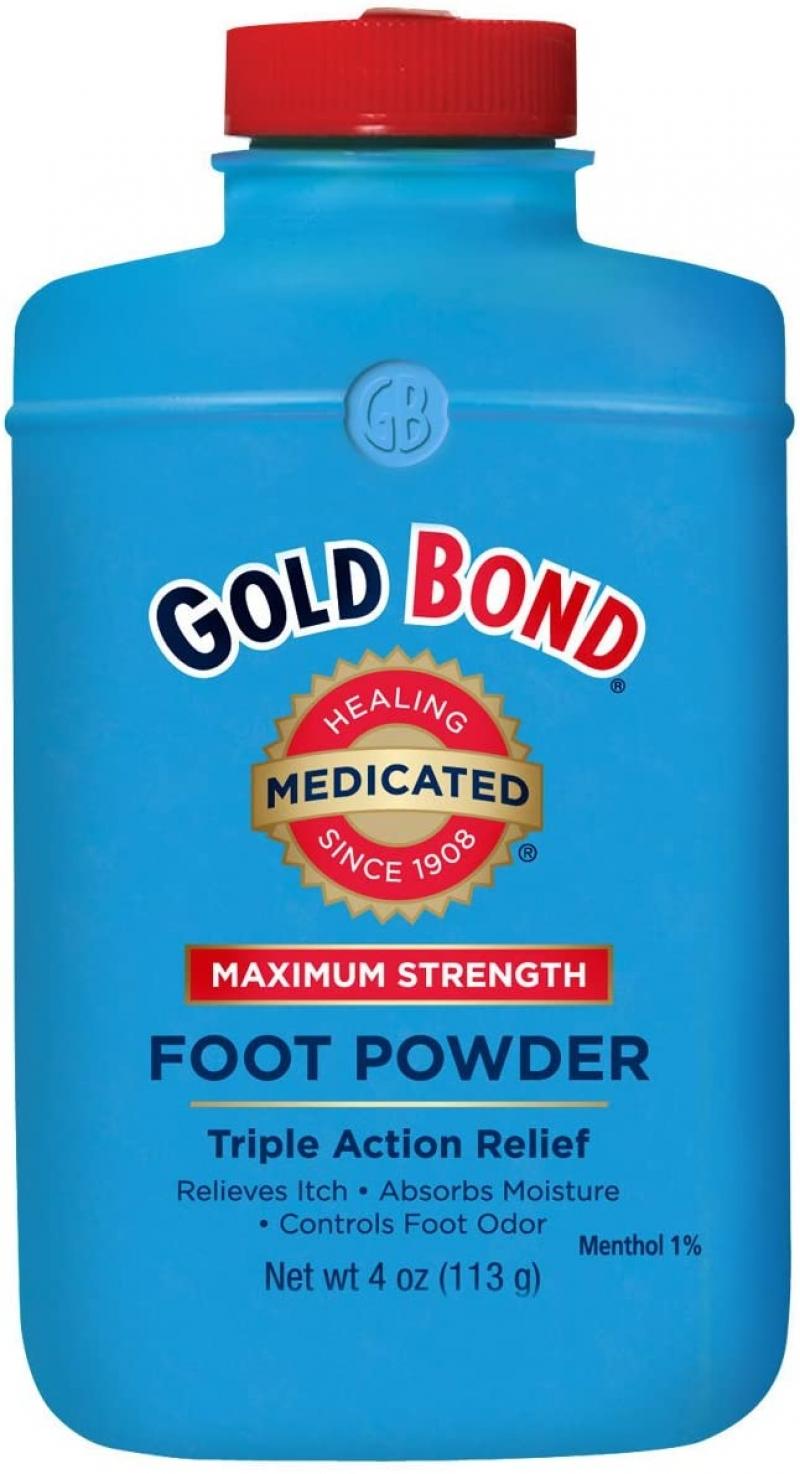 Gold Bond 強效足粉 4oz  $1.70(原價$3.99)