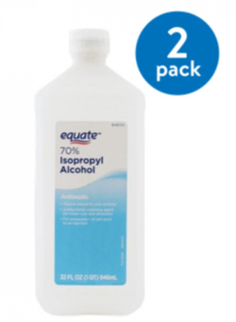 ihocon: Equate 70% Isopropyl Alcohol, 32 Oz 酒精 2瓶