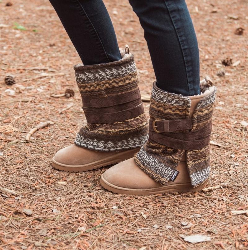 ihocon: MUK LUKS Women's Rebecca Boots 女靴