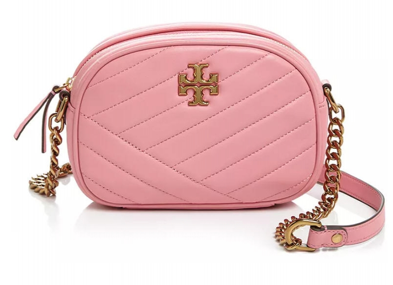 ihocon: Tory Burch Kira Chevron Leather Small Camera Crossbody 相機包