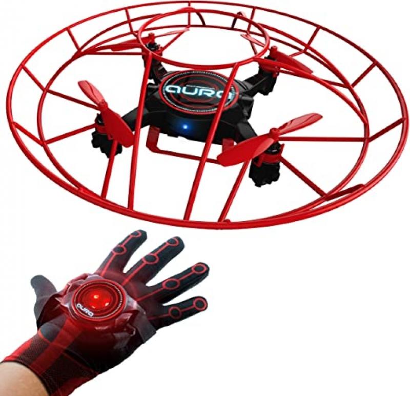 ihocon: KD Interactive Aura Drone with Glove Controller 手套控制無人機