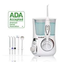 ihocon: Amabest Countertop Water Flosser - 5pcs Water Flosser Tips & 10 Modes 沖牙機/水牙線