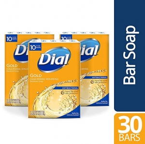ihocon: Dial Antibacterial Bar Soap, Gold, 30 Count 抗菌香皂