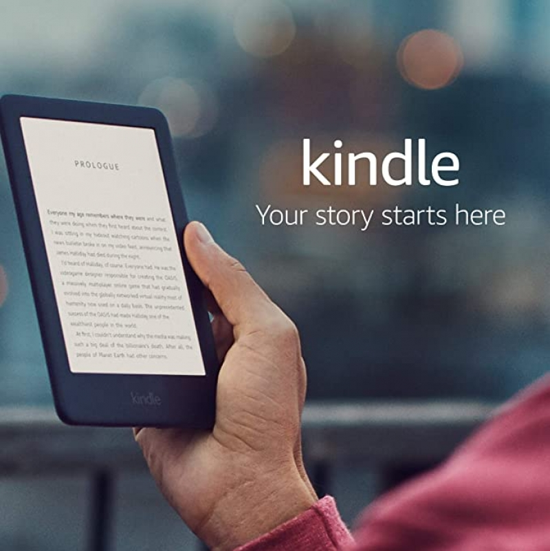 ihocon: Kindle 6 8GB WiFi E-Reader w/ Built-in Front Light Ad-Supported