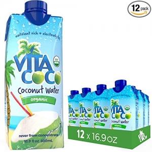 ihocon: Vita Coco Organic Coconut Water, 16.9 Ounce (Pack of 12) 有機椰子水