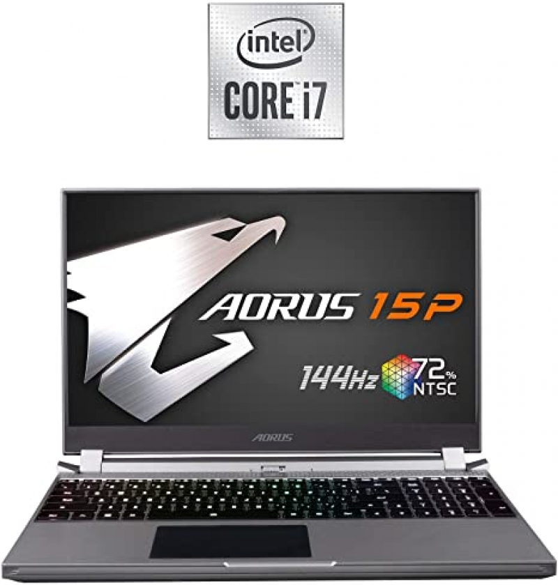 ihocon: Gigabyte AORUS 15P 17.3吋 FHD Gaming Laptop(6 Core i7-10750H / 16GB RAM / 512GB SSD / Windows 10 / 6GB Video)