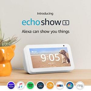 ihocon: Echo Show 5 – Compact smart display with Alexa - Sandstone